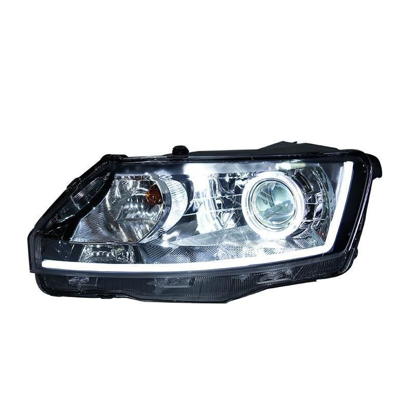 Assembly Drl Side Turn Signal Running Assessoires Luces Para Auto Led Car Lighting Headlights Front Fog Lights For Skoda Rapid