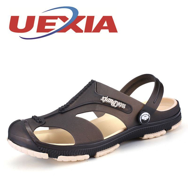 Men Fashion Sandals Summer Men's Slippers Leather Shoes Beach Casual Breathable Home Slippers Men Shoes <font><b>Flip</b></font>-Flops Zapatos