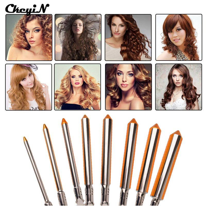 9/13/16/19/22/25/31mm Barrel Hair <font><b>Curling</b></font> Iron Professional Hair Curler Roller Iron Wand Hair Waver Electric Hair Styler Machine