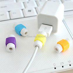 10 unids/lote cargador cable protector MagSafe para el auricular para iPhone Organizadores de cables universal