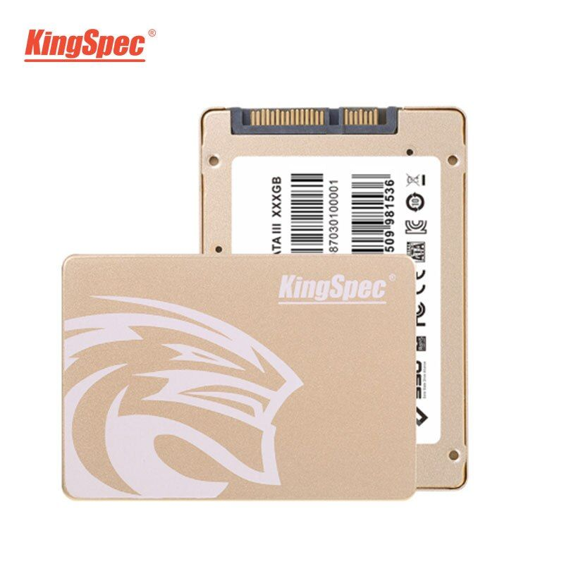 KingSpec High Speed Internal SSD 2TB 2.5 Inch Solid State HD Hard Drive SATA III for Laptop Computer New Arrivals