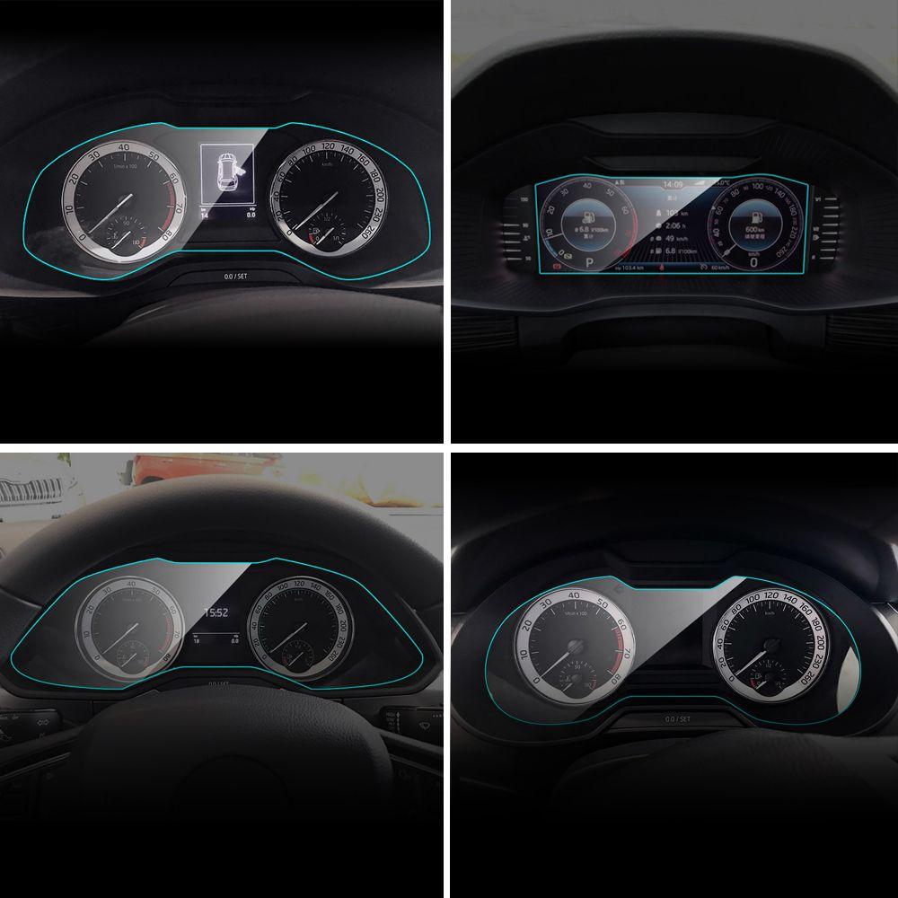Protection d'écran pour tableau de bord de voiture pour Skoda Octavia Kodiaq Fabia superbe film en polyuréthane thermoplastique de protection intérieure Rapid Yeti KAMIQ KAROQ