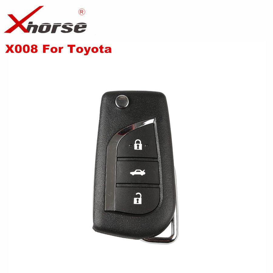 XHORSE VVDI2 Für Toyota Universal Remote Key 3 Tasten Xhorse Draht Remote Key X008