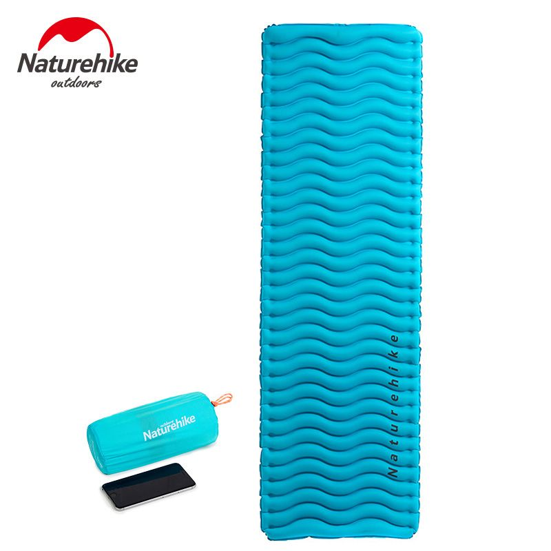 Naturehike Outdoor Moisture-proof Pad thickening Mat Portable Single Double Ultralight Tent Inflatable Cushion Waterproof Matres