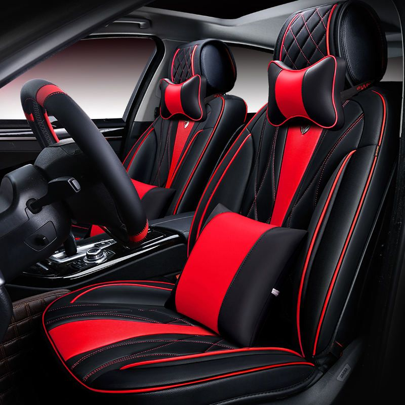 6D Styling Auto Sitzbezug Für Porsche Cayenne SUV 911 Cayman Macan Panamera, Hohe Leder, Car Styling