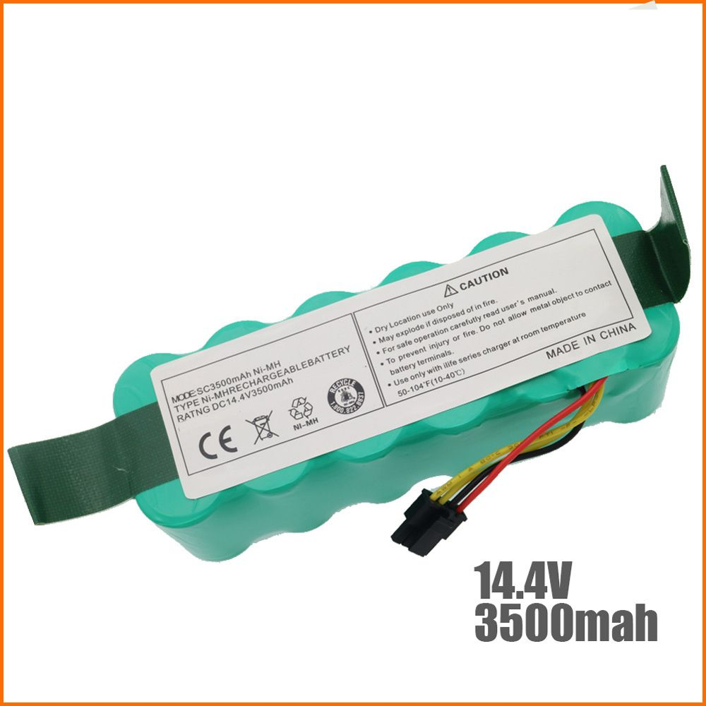 NI-MH 14.4V 3500mAh for panda X500 X600 Battery High quality Battery for Ecovacs Mirror CR120 Vacuum cleaner Dibea X500 X580