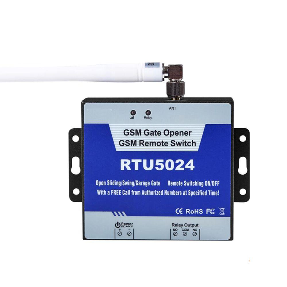 GSM Ouvreur de Porte Relais Commutateur de Contrôle D'accès À Distance Sans Fil Porte Ouvre Par Appel Gratuit Roi Pigeon RTU5024