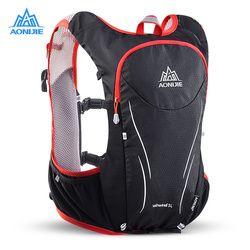 Aonijie E906S 5L Ditingkatkan Lari Di Luar Ruangan Tas Ransel Maraton Reflektif Bersepeda Ransel Hidrasi Rompi Pack