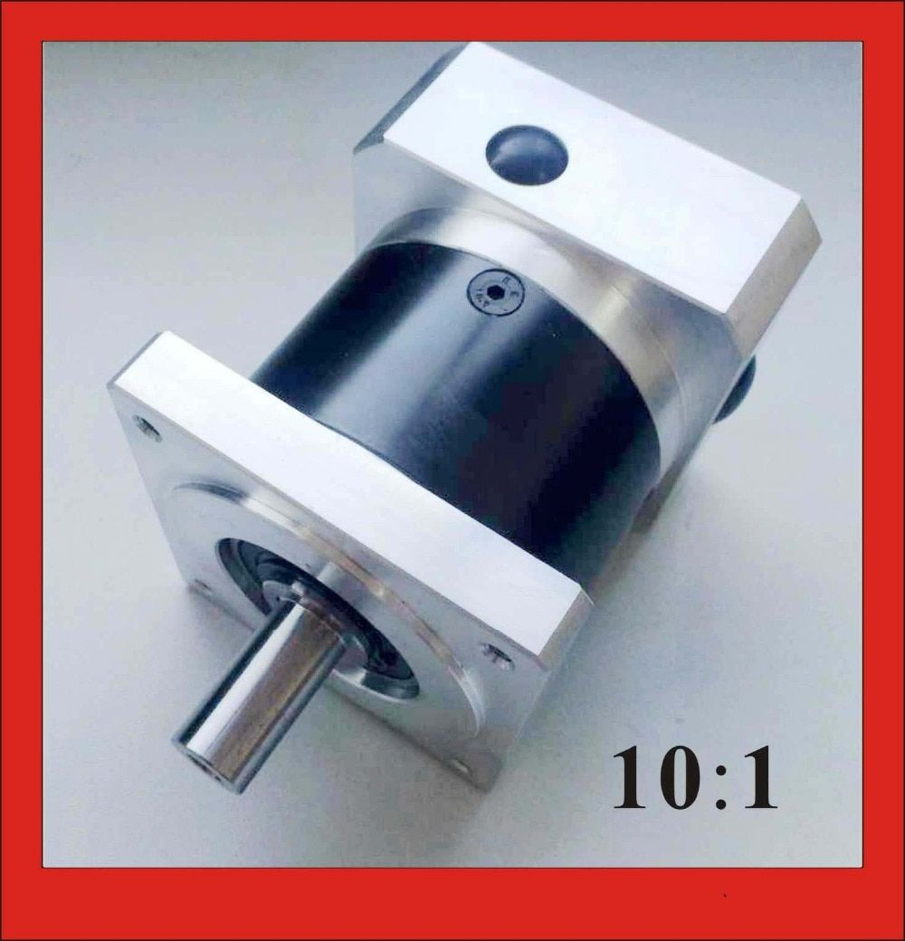 10:1 NEMA34 Planetary Reducer for nema 34 Stepper Motor Precesion Version Gearbox 50N.m (6944oz-in) Rated Torque Long Life