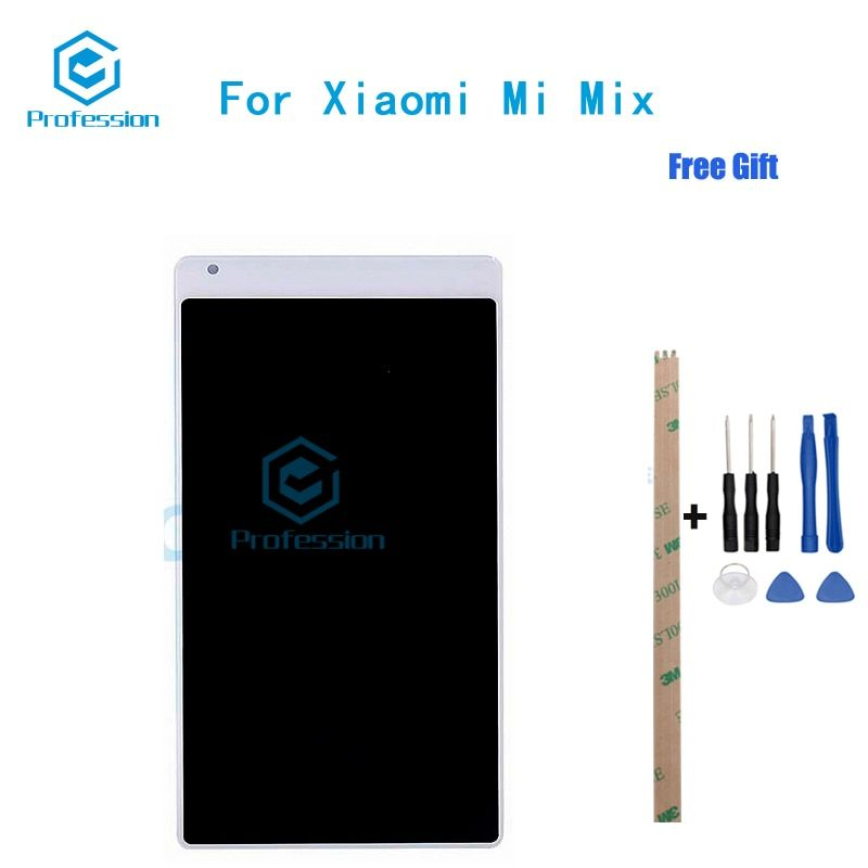 For Xiaomi Mi Mix MIX2 MIX2S LCD Display and Touch Screen Screen Digitizer Assembly Repla cement Tools+Adhesive stock