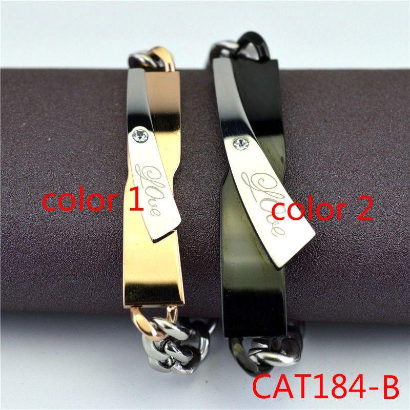 Korea Wind Fashion Ol Interweave Lovers Type Bracelet Male Ma'am A Pair Titanium Crystal Leisure Time Accessories Product CAT184