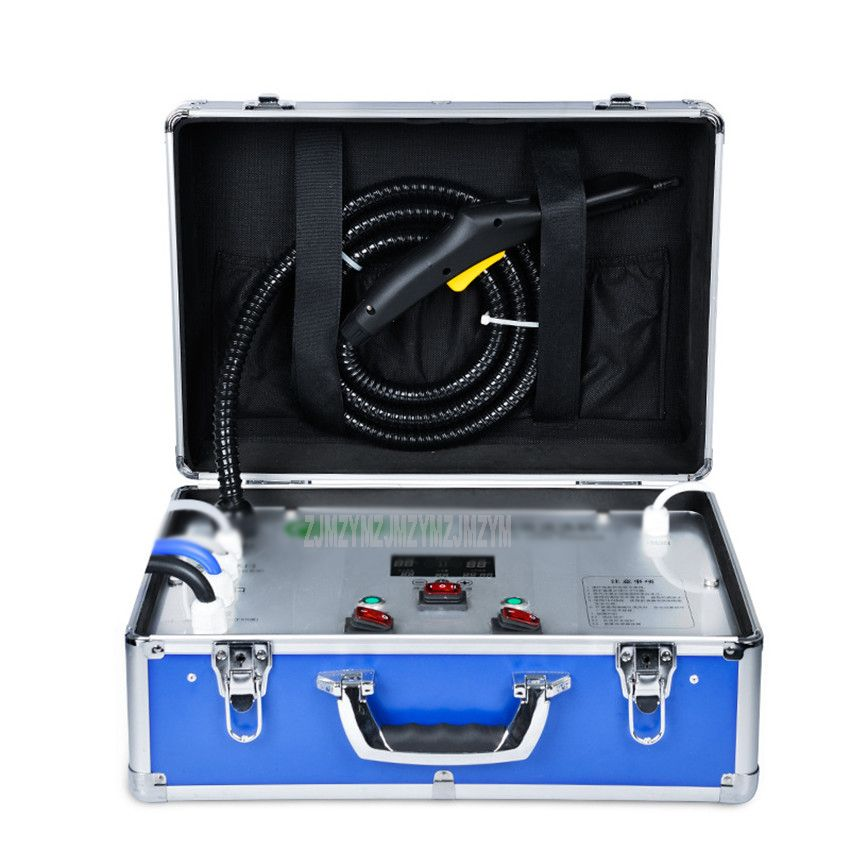 A6 Haushalts Appliance Reinigung Ausrüstung Klimaanlage Ruß Maschine Hohe Temperatur Dampf Ozon Sterilisieren Waschen Maschine