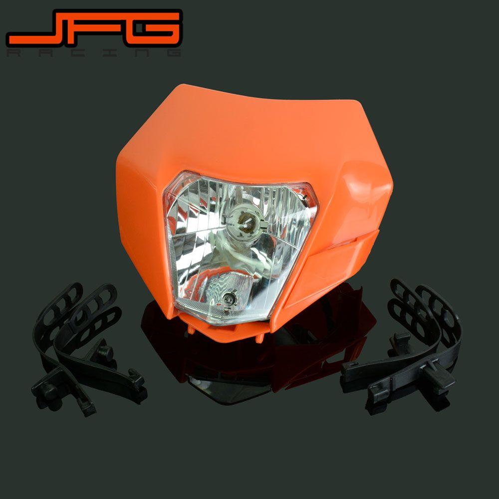 Motorcycle Universal headlight Headlamp Street Fighter For KTM EXC EXCF SX XC XCW MX SMR SXS 125 250 350 450 500 505 520 530
