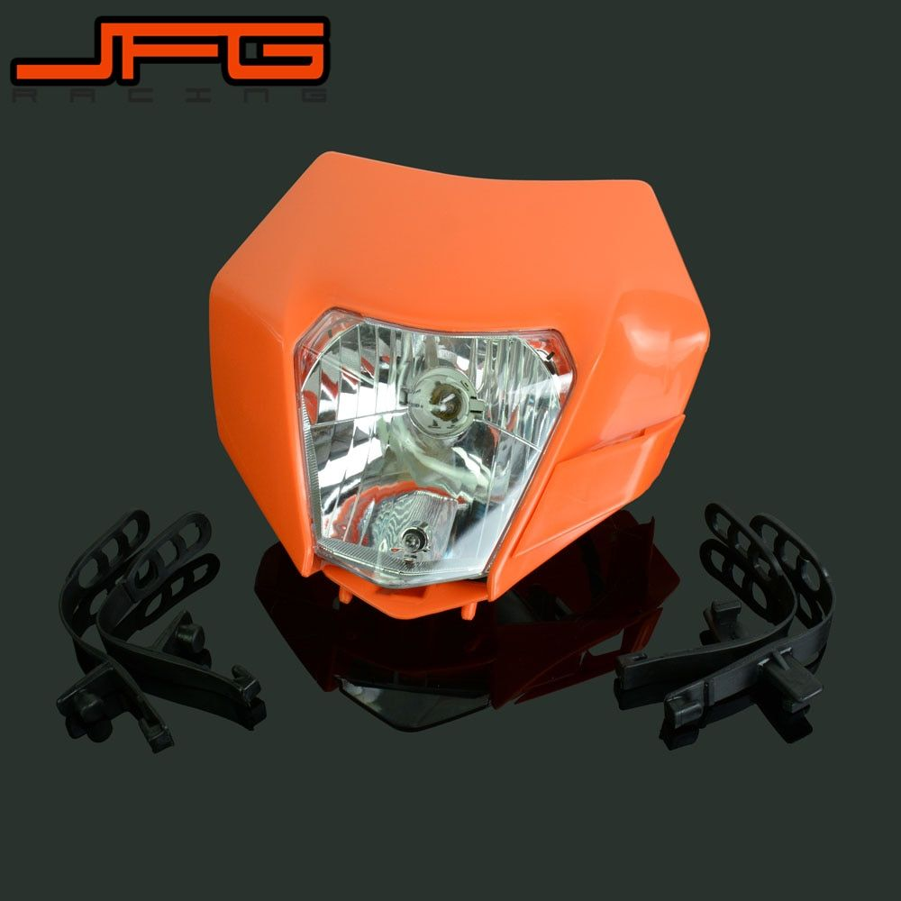 Motorcycle Universal headlight Headlamp Street Fighter For KTM EXC EXCF SX XC XCW MX SMR SXS 125 250 350 450 500 505 520 530