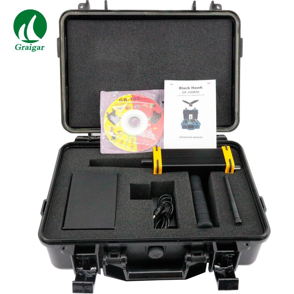 GR-100MINI Long Range King Metal Detector for Gold Diamond Gem and Minerals Gold Diamond Finder