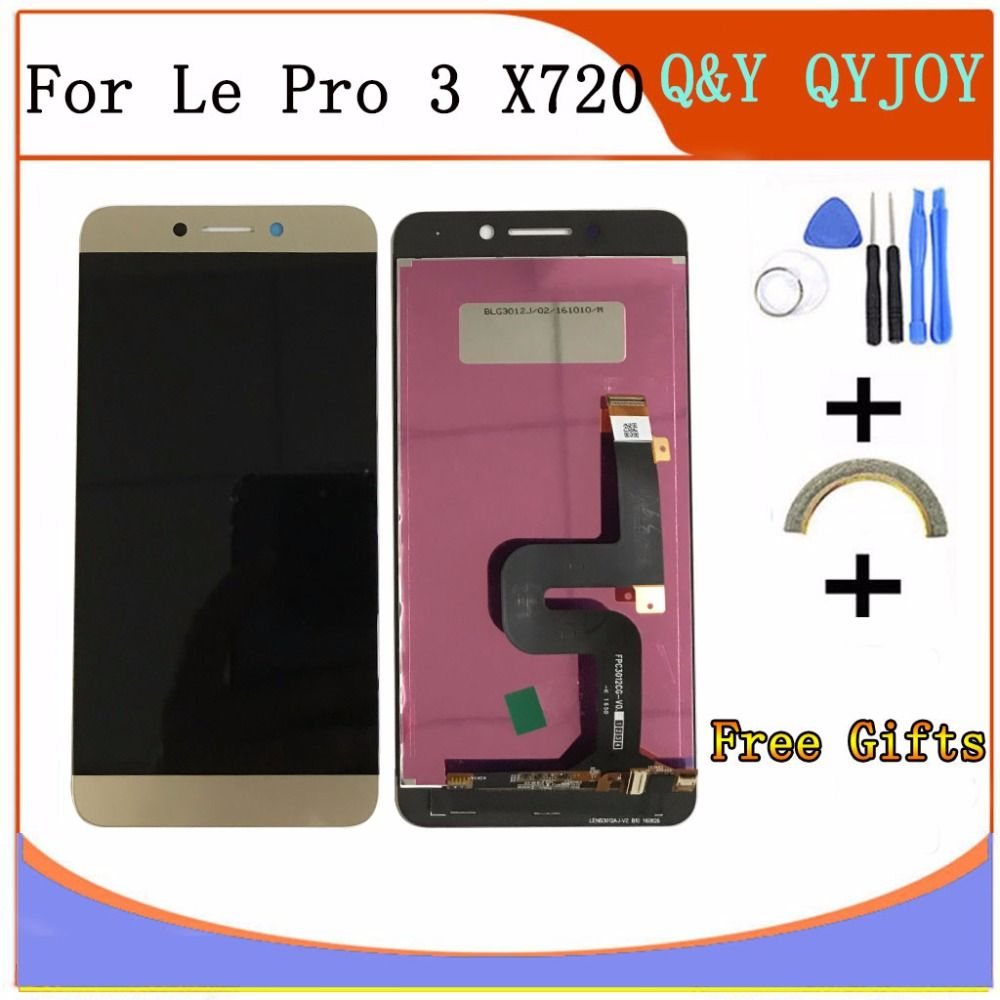 For LeTV LeEco Le Pro3 X720 X725 X727 X726 X722 X728 Pro 3 100% New 5.5inch Full LCD DIsplay + Touch Screen Digitizer Assembly