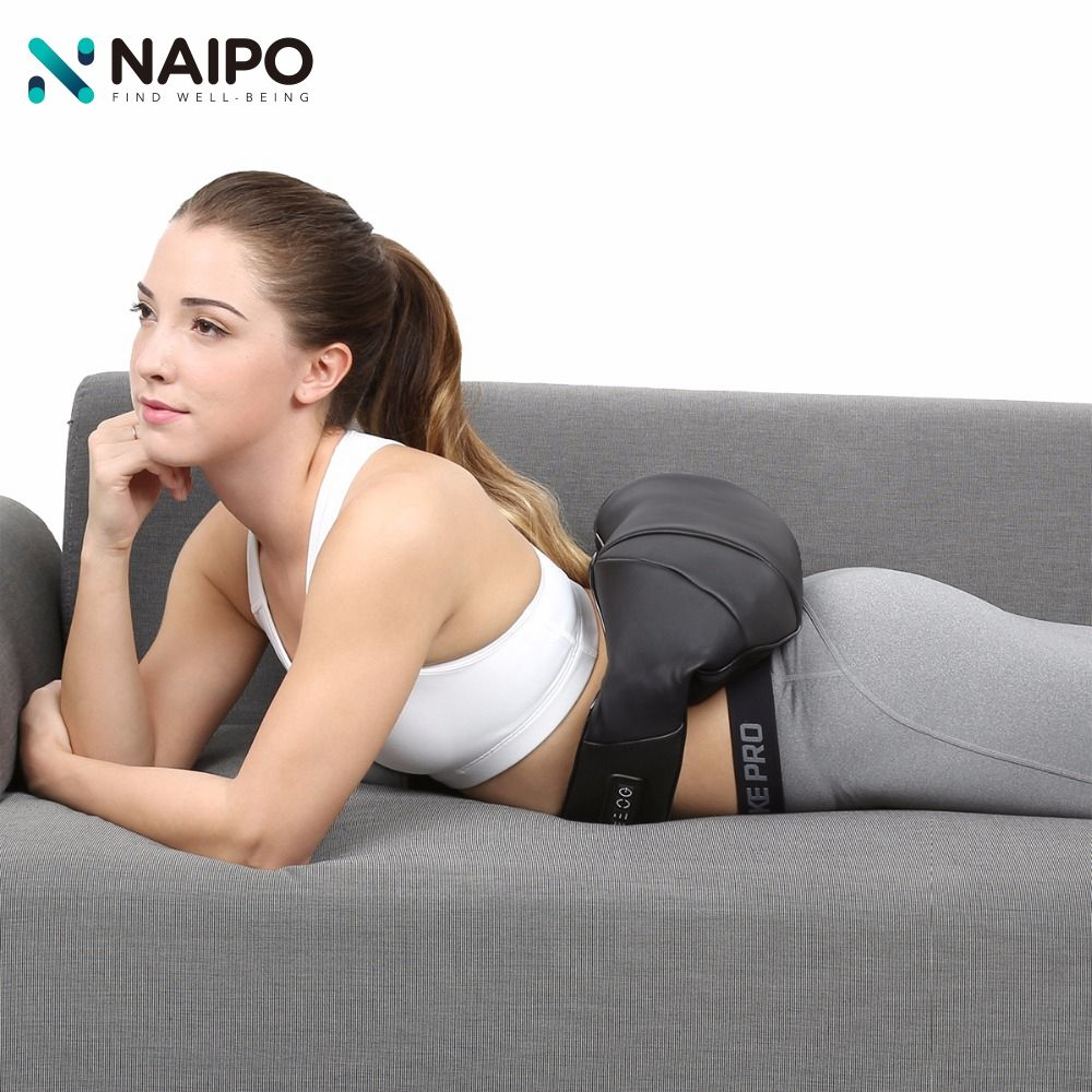 Naipo Multifunction Neck Shoulder Massager Massage Kneading Acupuntura Kneading Cellulite Massager Slimmer Massage Muscle