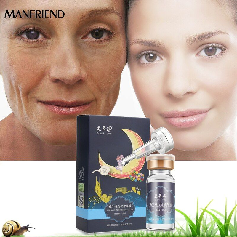 Snail Repair Whitening Skin Care Moisturizing Essence Face Care Treatment Acne Anti-Aging Wrinkle Serum Firming Beauty