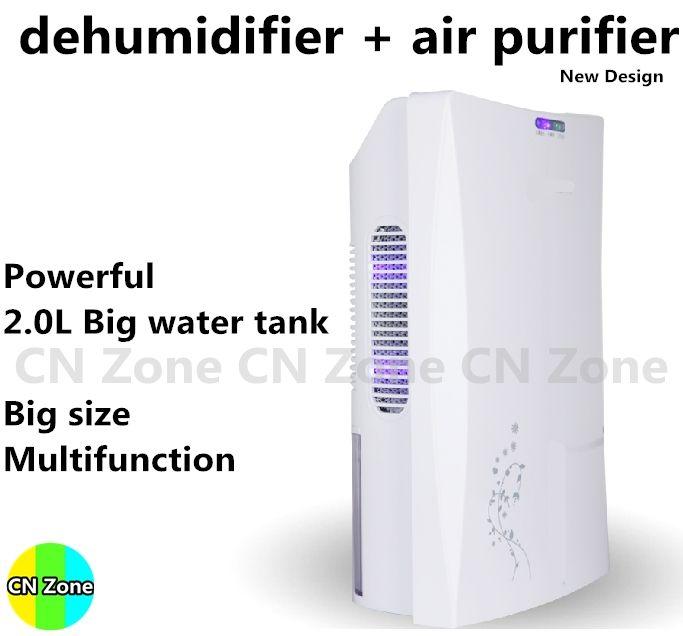 Déshumidificateur Absorbeur D'humidité Anion Purifier Air Sèche-Desumidificador Séchage Machine Ménage Purification De La Maison Déshumidification