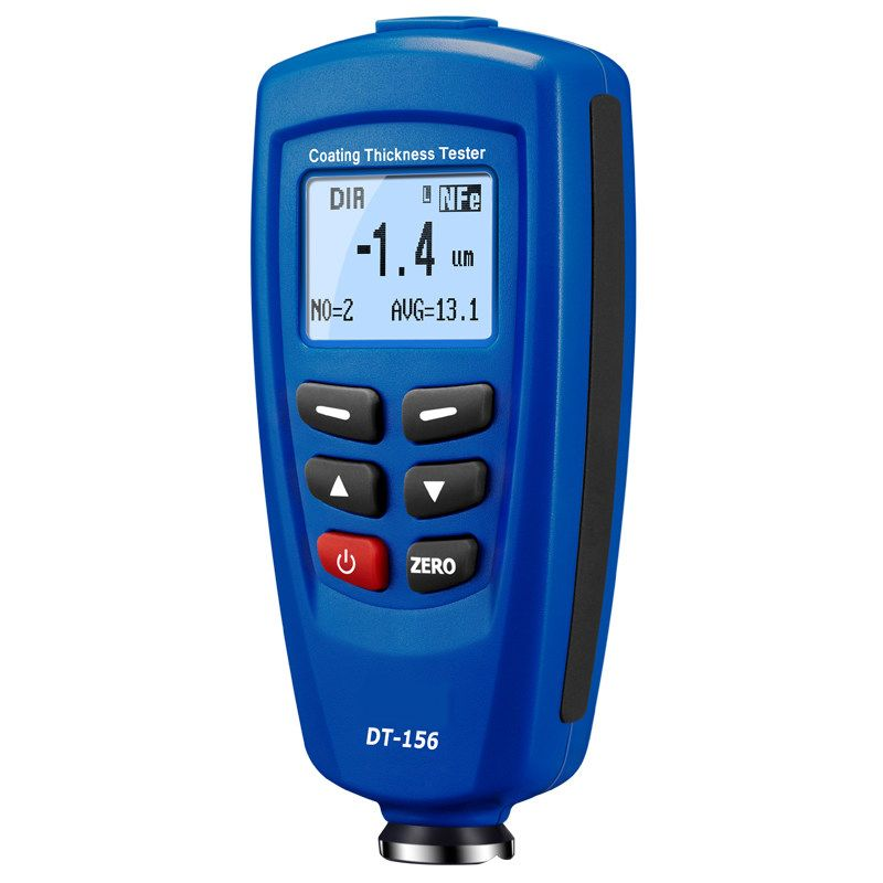 Coating Paint Thickness Gauge Meter Digital Handheld for Car Automotive with Backlight LCD Display Auto F&NF Range 0-1250um