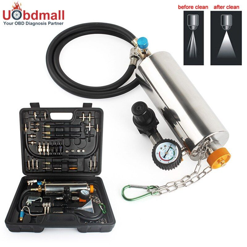 Ancel GX100 Auto Injector Cleaner Non-Dismantle Auto Fuel Injector Cleaner Car Fuel Injector Tester Fuel Injector Washing Tool