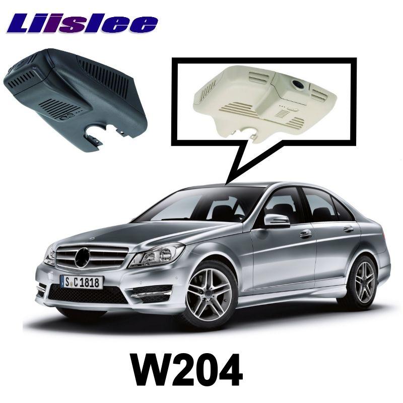 LiisLee Car Black Box WiFi DVR Dash Camera Driving Video Recorder For Mercedes Benz C Class MB W204 2007~2015