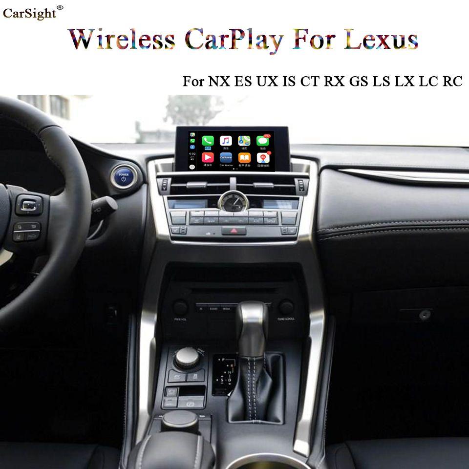 (Knopf Typ) 2019 neue Freigegeben OEM RC LC LS LX GS RX CT IST ES NX CarPlay Video Interface Retrofit für Lexus