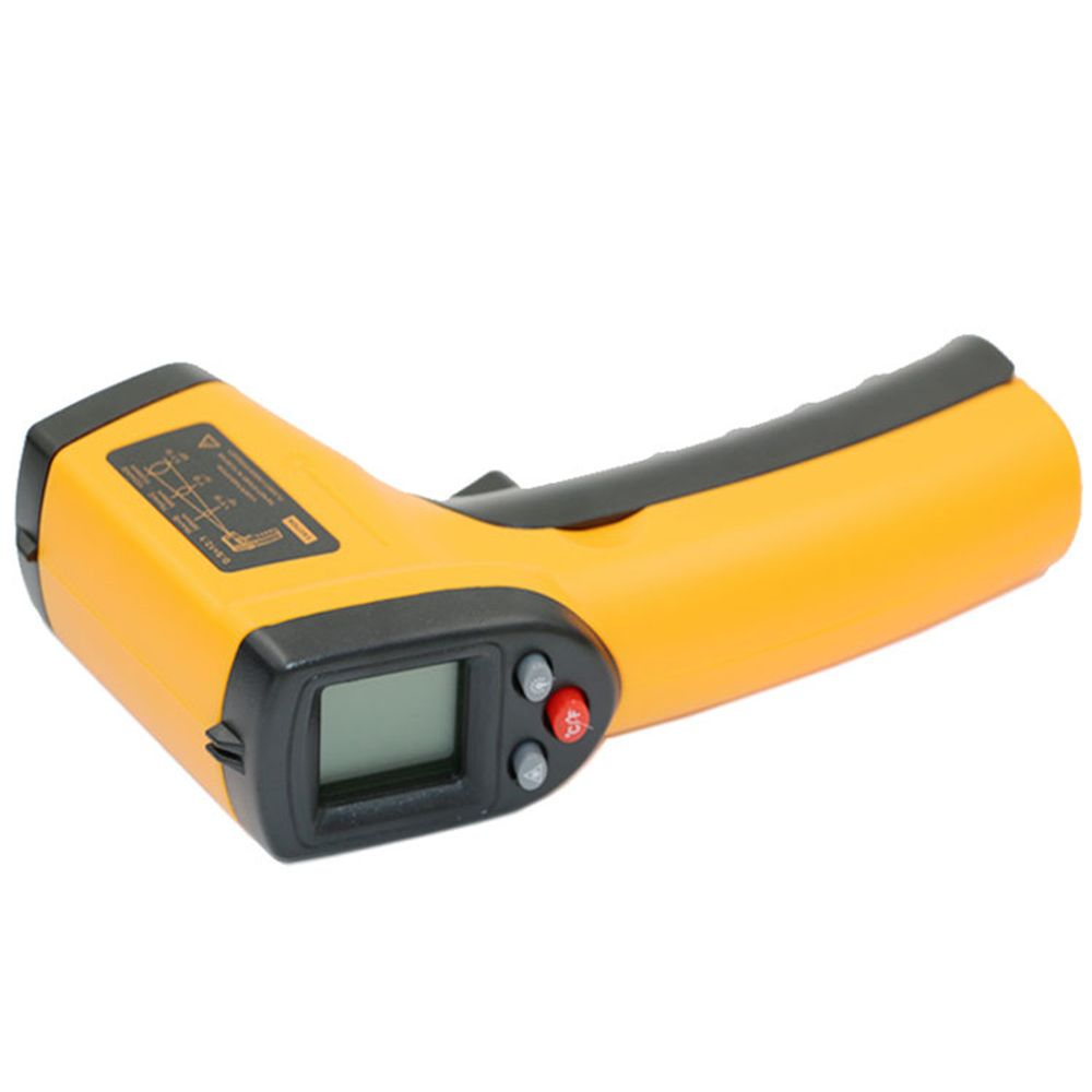 1Pcs LCD Digital IR Infrared Thermometer Temperature Meter Gun Point -50~380 Degree Non-Contact Thermometer IR Laser Point Gun