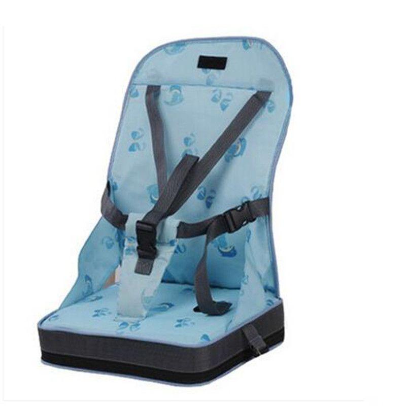 4 couleurs de mode Portable rehausseur sièges bébé sécurité chaise siège/Portable voyage chaise haute dîner siège