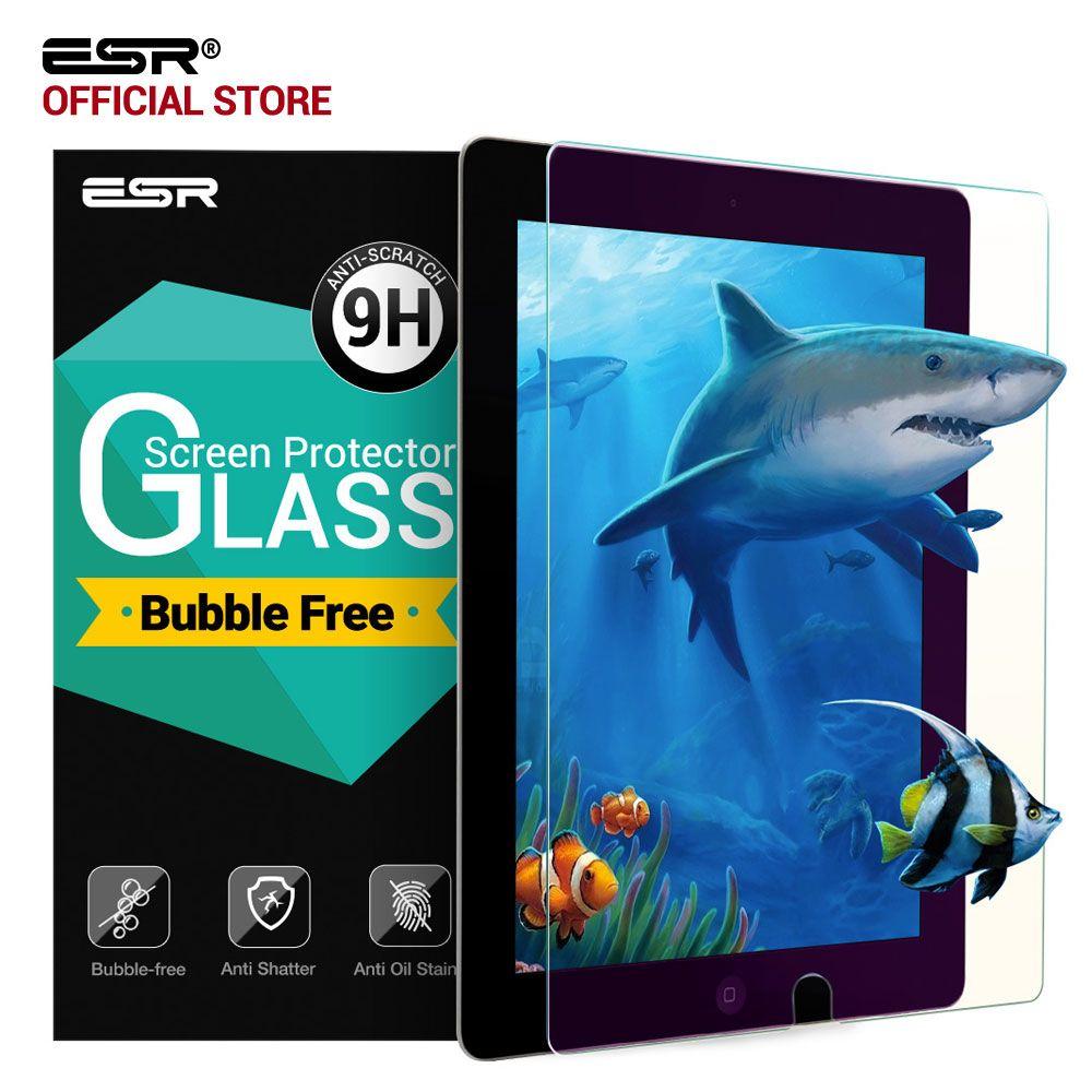 Displayschutzfolie für iPad Pro 10,5, ESR 0,33mm Anti Blue-ray Gehärtetem Glas Film mit Freies Applikator für iPad Pro 10,5 zoll