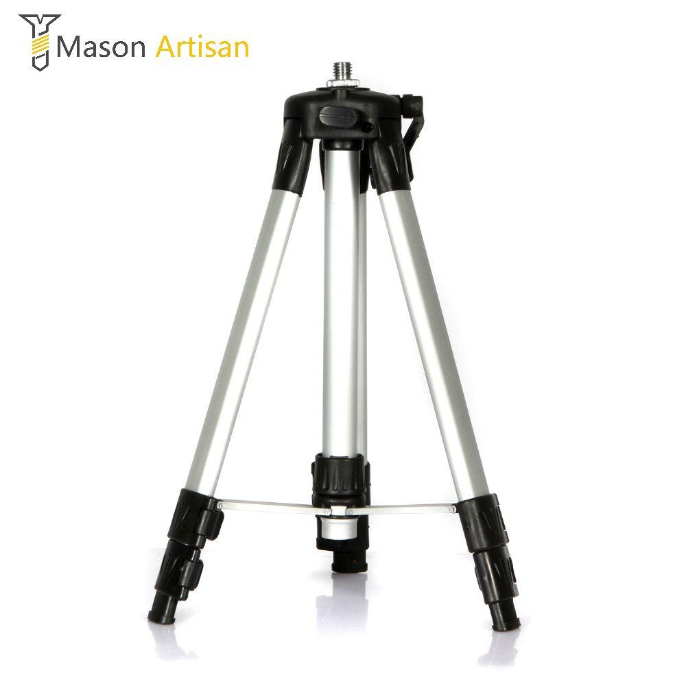 1.2 m/1.5 m Flexible Laser Niveau Soutien 2/3/5/8/12 Ligne Laser niveau Trépied Titulaire En Alliage D'aluminium Stand pour Levier Laser