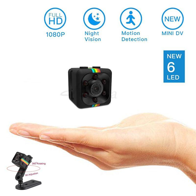 Roreta SQ11 mini camera 1080P HD Sport DV DVR Monitor Concealed camera SQ 11 night vision micro small camera Mini camcorder