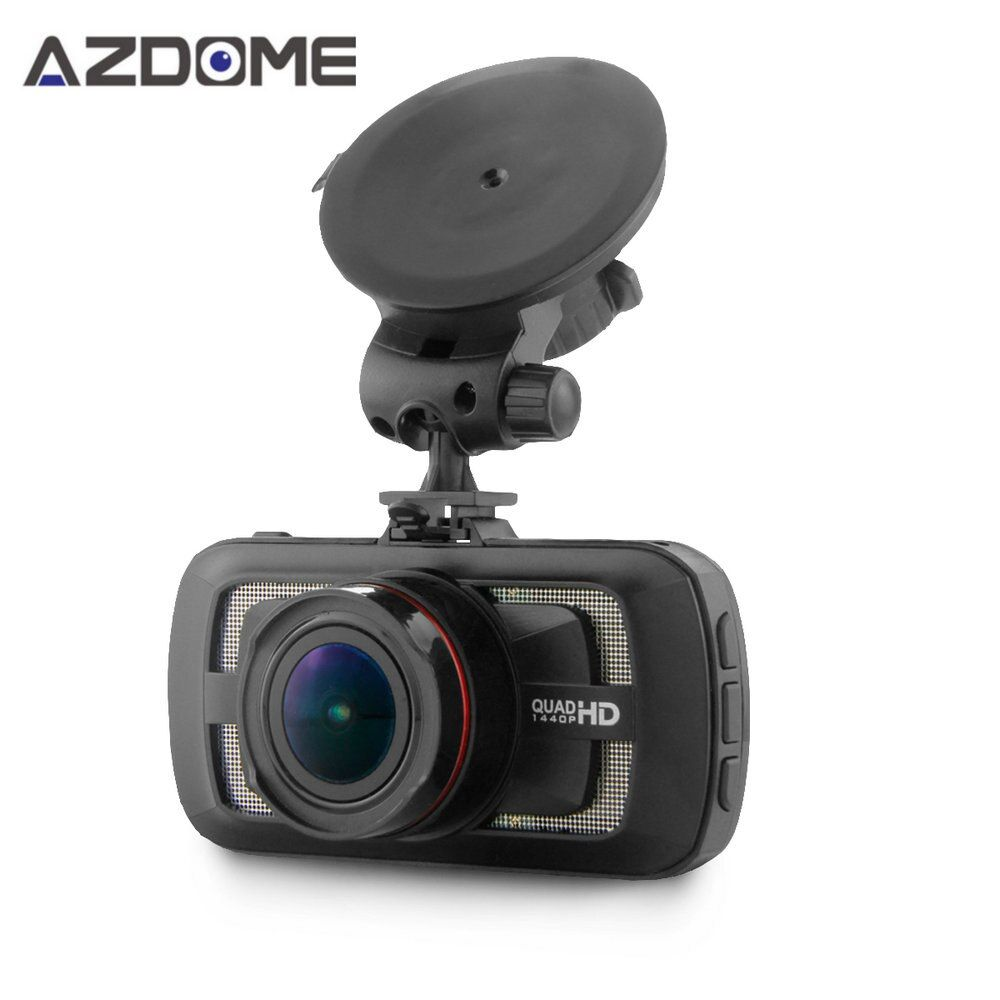 Azdome DAB205 Ambarella A12 Voiture DVR Caméra HD 1440 P 30fps 2.7 pouces Vidéo Enregistreur HDR ADAS Auto Cycle Enregistrement Dash Cam GPS