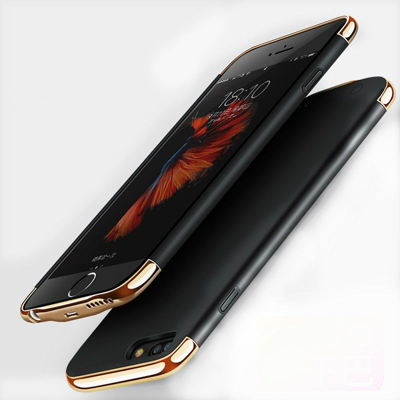 Original ABV Backup External Battery Charger Case for iPhone 6/6s/7 plus Portable Backup Power Bank Case Cover no jaw chin