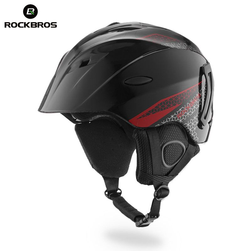 ROCKBROS Ski Helm Integral geformten Skifahren Helme Sicherheit Zu Schützen Erwachsene Kinder Thermische Ultraleicht Snowboard Skateboard Kopf Tragen