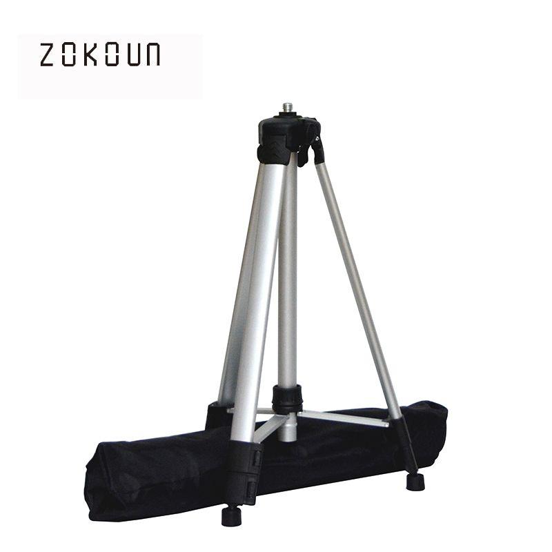 ZOKOUn 750g poids 1.5 m hauteur maximale 5/8 fil enduit en aluminium haute qualité stand ou trépied pour 360 rotatif laser