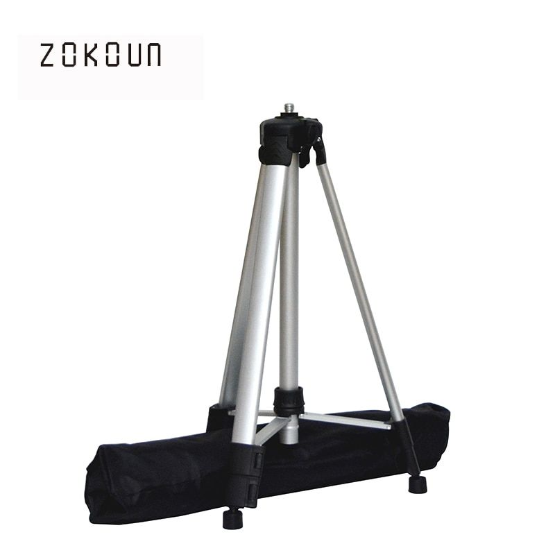 ZOKOUn 750g weight 1.5m maximum height 5/8 thread coated aluminum high quality stand or <font><b>tripod</b></font> for 360 rotary laser
