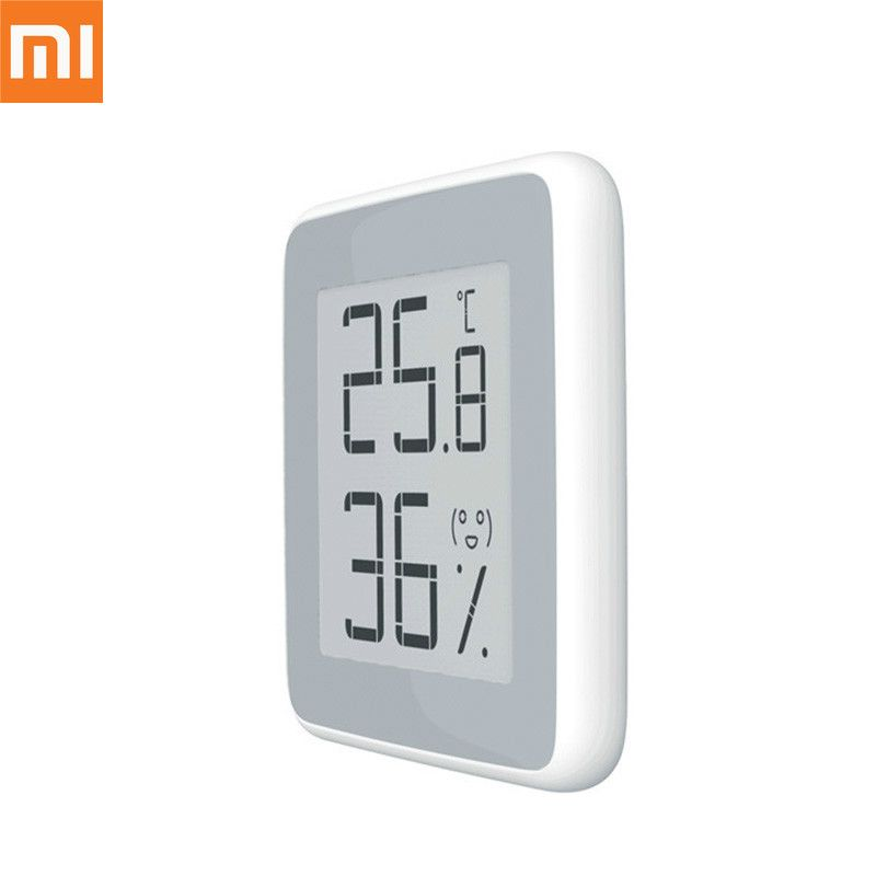 Xiaomi miaomiaoce Smart Thermometer Hygrometer Temperature Humidity Sensor with LCD Screen Digital E-ink electronic ink screen