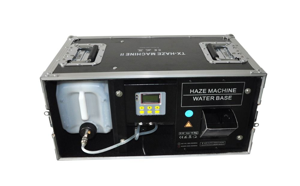 New Arrival Hot Sale 1500W Fog Machine With Flight Case,Special Effects Stage Hazer Fog Machine-Water Based Liquid