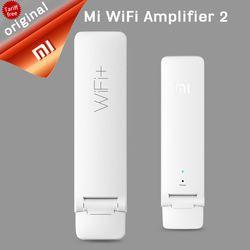 Original Xiao mi inalámbrico mi WiFi Amplificadores 2 300mps universal Xiao mi repetidor WiFi Xiao mi portátil USB wifi router inalámbrico