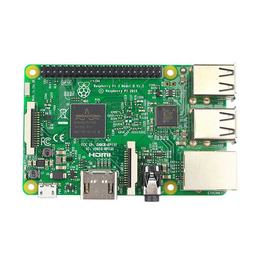 Raspberry Pi 3 Model B Board 1GB LPDDR2 BCM2837 Quad-Core Ras PI3 B,PI 3B,PI 3 B with WiFi&Bluetooth RS version