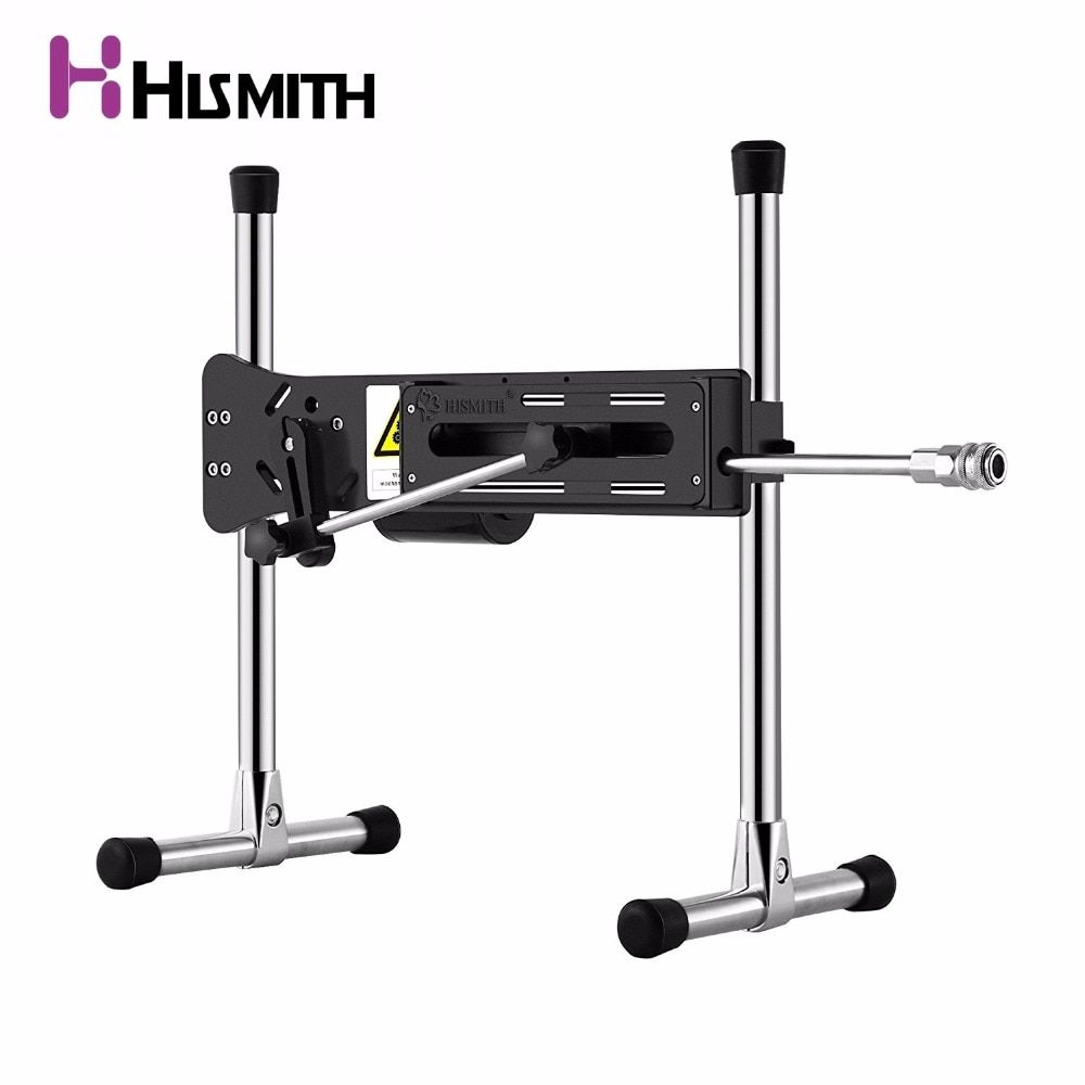HISMITH Premium Sex Machine Updated Edition with Remote Control Super quiet 30db Wire-Controlled Love Machine with dildo handbag