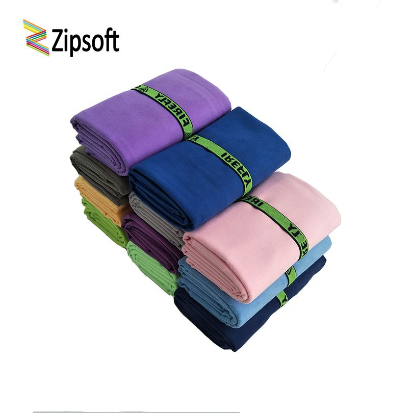 Zipsof Quick Microfiber towels With Bandage Drying Travel Sports Swim Gym Yoga Adults Blanket Spa Bady Wraps Bath New year gift