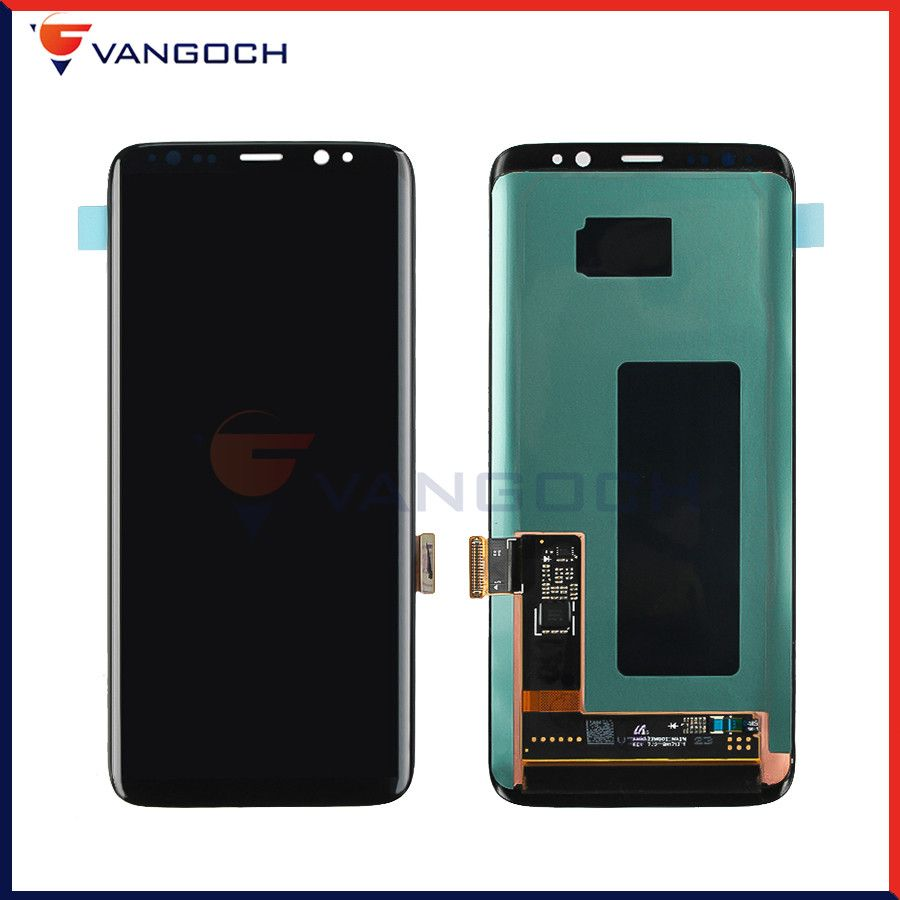 Original Super Amoled LCD Screen For Samsung Galaxy S8 Display G950 Assembly Replacement Touch Screen Digitizer free gift