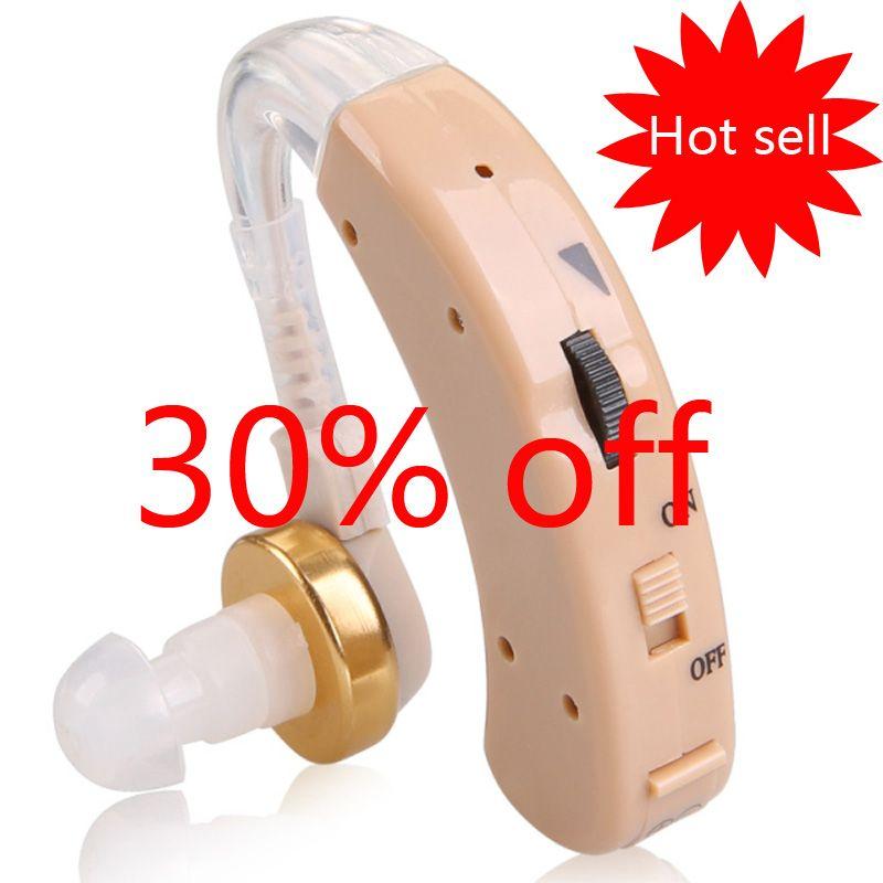 FEIE Cheap Hearing Aid Sound Amplifier Micro Aparelho Auditivo BTE S-520 Deaf-aid Hearing Aids Free Shipping Christmas Gift