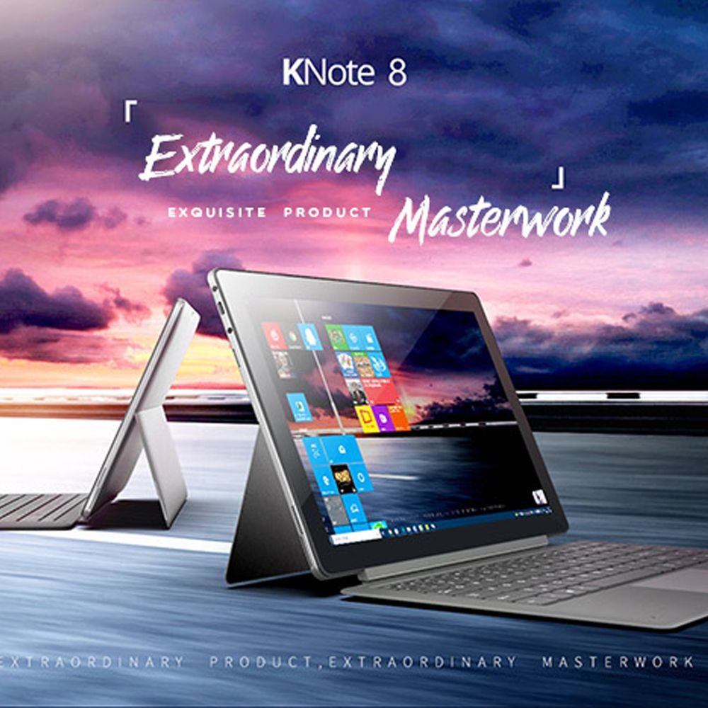 ALLDOCUBE KNote8 2 In 1 Tablet PC 13,3 Zoll 2 K Bildschirm Windows 10 Intel Kabylake 7Y30 Dual Core 8 GB 256 GB Typ C Tabletten