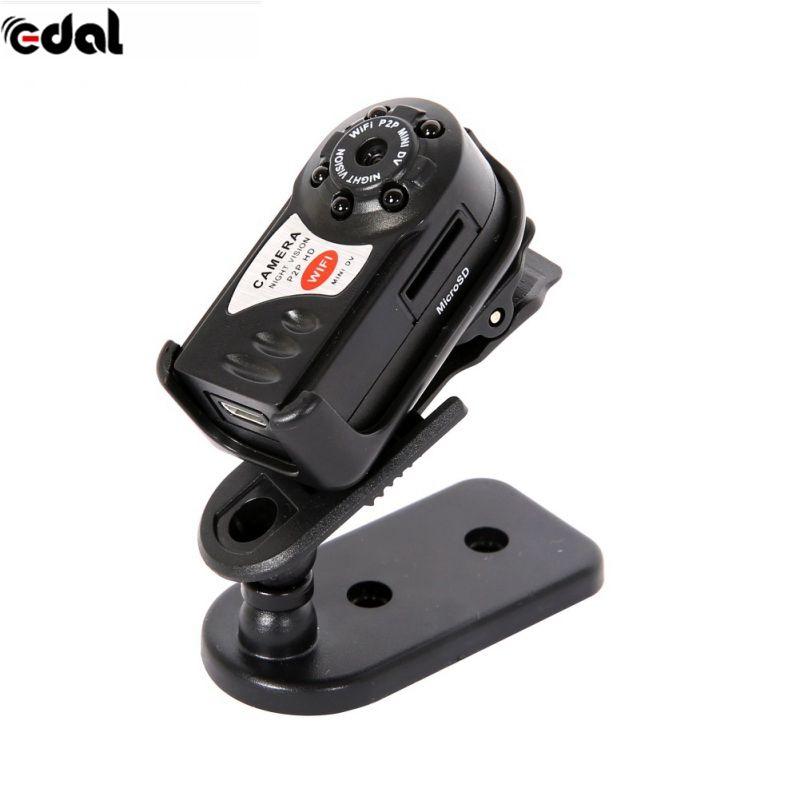 Эдал мини Камера 480 P Wi-Fi DV DVR Беспроводной IP Cam Фирменная Новинка Мини видеокамера Регистраторы инфракрасный Ночное видение Малый Камера