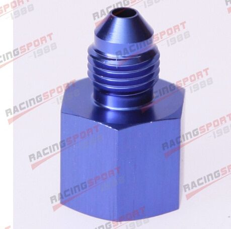 10AN female to 8AN male flare reducer blue AD5005