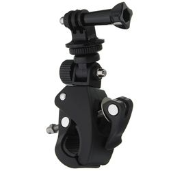 Bike Bicycle Handlebar Handle Seatpost Clamp Roll Bar Mount + Mounting Adapter For Gopro Hero 1 2 3 3+ 4 Sport Camera