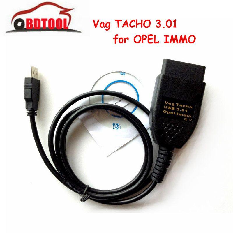 Neue USB VAG TACHO 3,01 Opel Immo Reader Interface Vag TACHO 3,01 OBD2 Diagnose Tool Kilometerzähler Laufleistung Korrektur Vagtacho